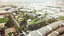 Plan de développement du Technopôle Angus – Phase II | Crédit : Sociétét de développement Angus / Provencher_Roy